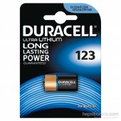 Duracell Ultra Lityum Pil 123 3 Volt