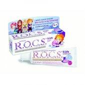 Rocs Kids 4 7 Yaş Balon Sakızlı Diş Macunu