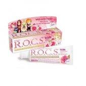 Rocs Kids 3 7 Yaş Sweet Princes Diş Macunu Gül Tadında