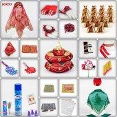 505 Parça Lüks Osmanlı Kına Seti 6 Renk Kına Gecesi Malzemeleri