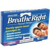 Breathe Right Burun Bantı 10 Adet