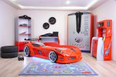 Arabalı Yataklı Süper Sports Genç Odası Takımı , Jaguar Full 1