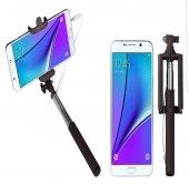 Samsung Galaxy Note 7 Kulaklık Girişli Selfie Özçekim Çubuğu