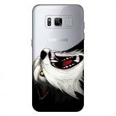 Samsung Galaxy S8 Kılıf Desenli Silikon Kap Arka Koruyucu İnce 0.2mm Kapak Hopi5718