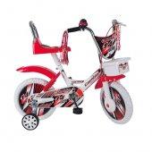 Esaras 14 Jant Kapaklı Bisiklet 4 7 Yaş Kırmızı