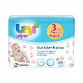 Uni Baby Uni Wipes Islak Havlu 3lü Avantaj Paketi 3x60 Adet