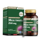 Nutraxin Herbal Milk Thistle 200 Mg 60 Tablet Skt 09 2020
