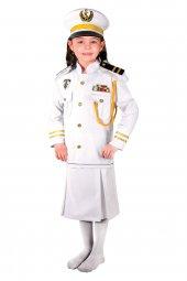 Kaptan Kostümü (Kız Çocuk)