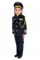 Pilot Kostümü 2 (Kız Çocuk)