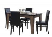 Kardel Kronos Açılır Yemek Masası (Venezia Cevizi) (Sandalyeler Hariç)