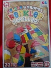 Ks Games Renkler Ve Şekiller 33 Parça Eğitici Oyun