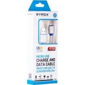 Syrox 2.0 Mah Micro Usb Kablo (Renkli) Syx C10