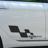 Mazda Yan Sport Oto Sticker Sağ Sol 2 Adet