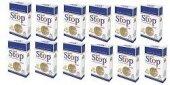 Stop Filtreli Ağızlık (Slim) 25 Adet 12 Li Paket
