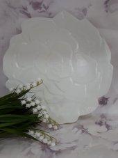 Porselen Servis Tabağı 6 Adet Çiçekli 27 Cm