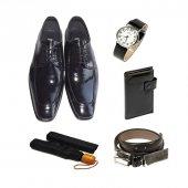 Eray Kundura Klasik Siyah Düz Erkek Ayakkabısı