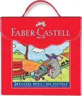 Faber Castel Pastel Boya 24&#039 Lü Çantalı