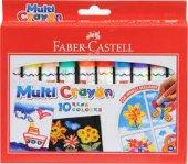 Faber Castel Multi Crayon 10 Renk