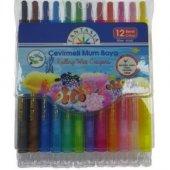 Fantasıa Çevirmeli Mum Boya 12 Renk