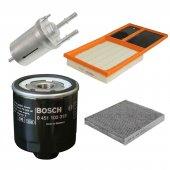 Bosch Filtre Bakım Seti Vw Polo 1.4 2009 2014 Cgg