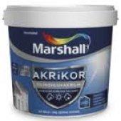 Marshall Akrikor Silikonlu + Akrilik Dış Cephe Boyası 7.5 Lt (Bütün Renkler)