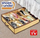 Ayakkabı Saklama Çantası 12 Bölmeli Shoes Under