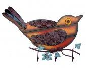 Kuş Askılık Ahşap Ve Metal Kombinasyon