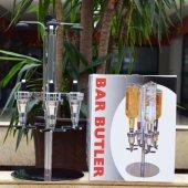 Bar Butler 6 Şişelik Cl Ölçerli Otomatik Kokteyl İçki Servis Maki