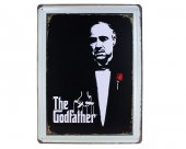 Vintage Metal Pano Godfather 30x40