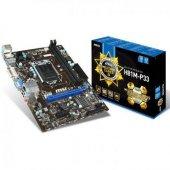 Msı H81m P33 Intel H81 1600mhz Ddr3 Lga1150 Matx A