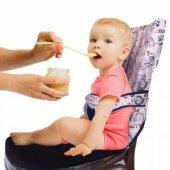 Sevibebe Kumaş Mama Sandalyesi (Lacivert Gri)