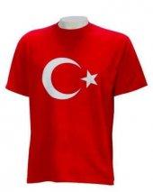 Türk Bayraklı Ay Yıldızlı Unısex Tişört Bay Ve Bayan İçin Türk Bayraklı Tişört Türk Bayrağı Tişört