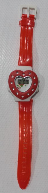 çocuk Saat Kalpli Taşlı 330