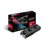 Asus 8gb Amd Rx580 Rog Strix Gaming Oc Rx580 O8g Ddr5 256bit 2x H