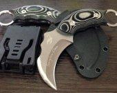 Scorpion Clan Csgo Siyah Lüx Karambit Bıçak Kamp Piknik Av Çakısı