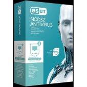 Nod32 Eset Antivirüs V10 3 Kullanıcı 1 Yıl Tr Kutu