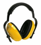 Gürültü Önleyici Kulaklık (Sarı)