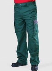 Kargo Cepli İş Pantolonu İş Elbisesi İş Güvenliği (Yeşil)