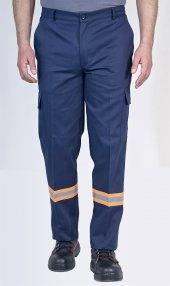 Iş Pantolonu Reflektörlü Komando Cepli İ Pantolon İş Elbiseleri