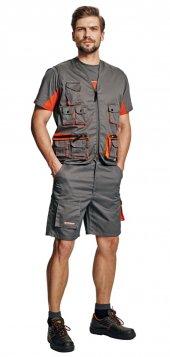 Iş Yeleği Çok Fonksiyonlu 10 Cepli Yazlık Yelek İş Elbisesi