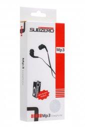 Metal Mp3 Çalar Kulaklık Hediyeli Siyah Renk