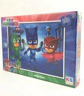 Puzzle 100 Parça Pj Masks Temalı