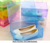 şeffaf Ayakkabı Kutusu Bayan (2 Adet)
