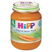 Hipp Organik Havuç Püresi 190 Gr.