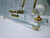 Cam Kristal Masa İsimliği Masa İsimlik
