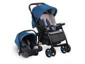 Babyhope Bh 3089 Neon Plus Travel Sistem Bebek Arabası Mavi Siyah