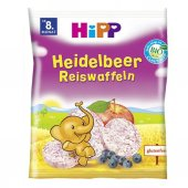Hipp Organik Yaban Mersinli Pirinçli Gofret 35 Gr.