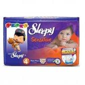 Sleepy Sensitive Jumbo Maxi Plus Bebek Bezi 9 16 Kg 36 Adet 4 No.