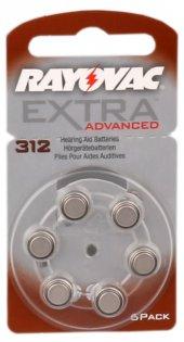 Rayovac 312 Numara Kulaklık Pili 6lı Paket