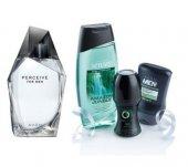 Avon Perceive Edt 100 Ml Erkek Parfüm 4&#039 Lü Bakım Set